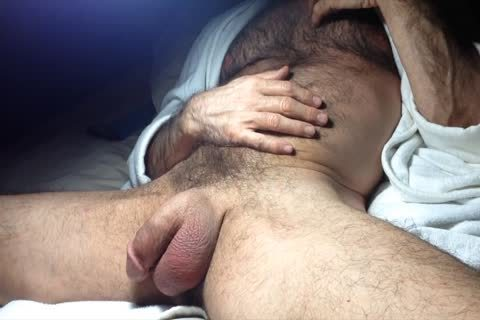 Playing With My Loose, Floppy Balls And penis