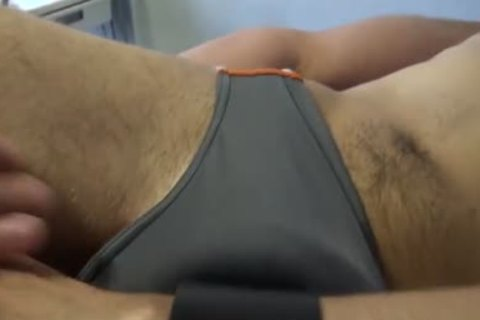 Soft Tender Edging And Denial Play In pretty Speedos. Touching, Stroking, Humping, fascinating.