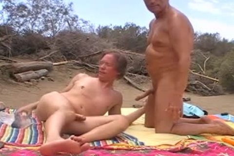 When The Sun Burns Down In The Dunes Of Maspalomas, We Usually acquire naughty, No Matter If Anyone Is Around Or Passing By. I Love To Feel My Husbands knob In My Hungry pooper When he Breeds Me. So I cant assist But Shooting My Load When His large d
