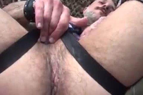 Bear-backing Leather Daddies - BareBackrt Media