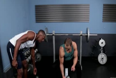 Brock Avery And Derek Maxum Work Out together