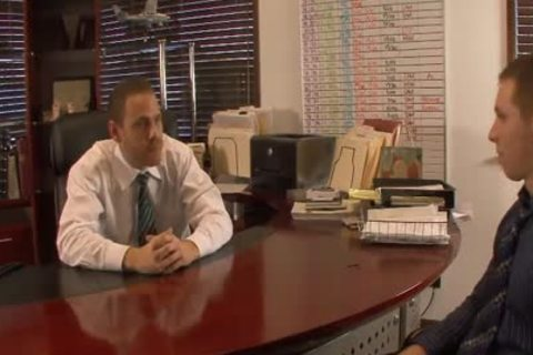 nasty homosexual males lick And Hump booties In The Office