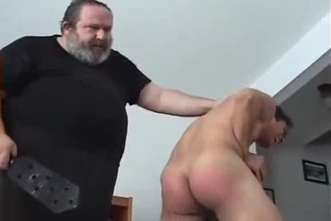 Very sleazy lad Spanked