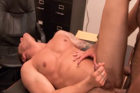 lustful homosexual gets booty banged At Interview