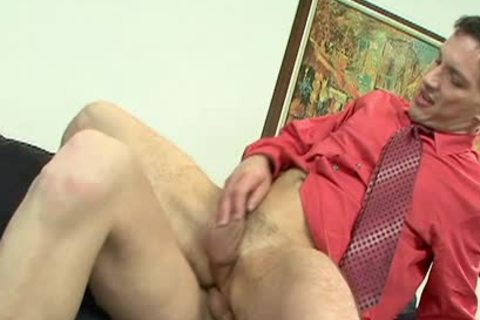 lusty Office homosexual dudes slamming Hard At Work
