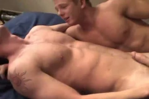 three men On A bed (widescreen)
