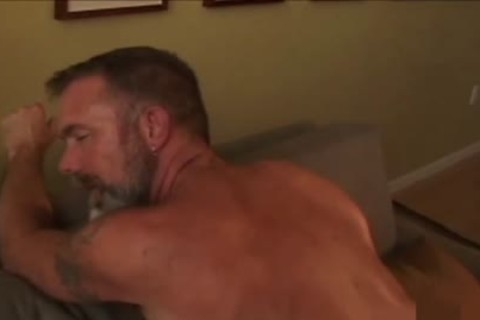 daddy chap shoots his load In The jo-bag whilst nailing A Daddy