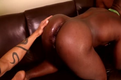 Next Door ebony Saint-Patrick's three-some
