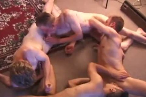 young Foursome nipple Biting Sex orgy