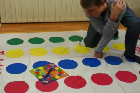 Davey Likes To Play Twister Alone And in nature's garb