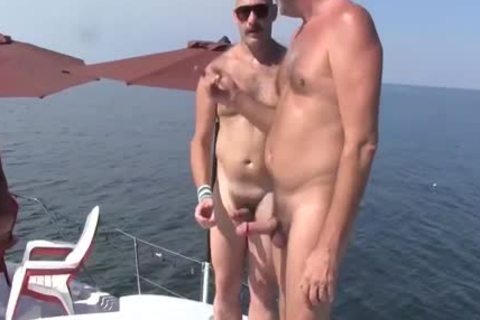older chap Has A sexual Experience With A Younger chap On A Boat