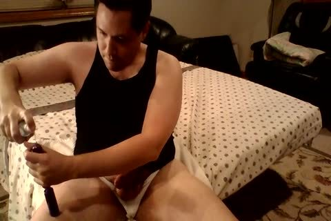 butthole Bead And cock Ring pleasure In My Jockstrap