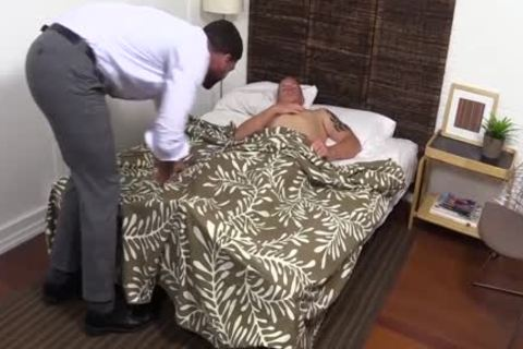 sweet And lustful Ricky Larkin Worships Conrad Feet while In bed