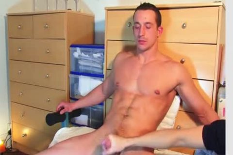 straight lad Found In A Gym Club, that man acquires Wanked His ramrod By A lad On movie!