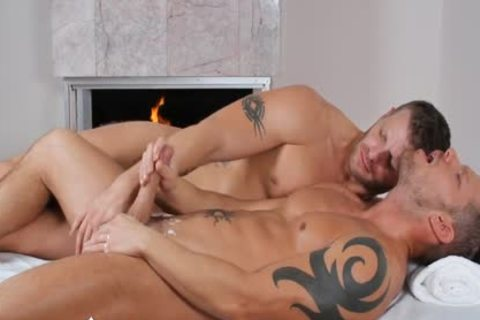 ManRoyale - Shane Frosts Swallows gigantic Load From Jeremy Stevens