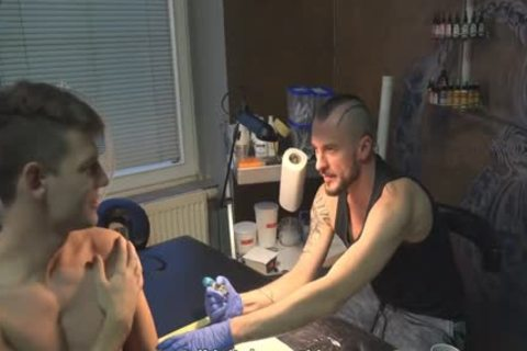 slutty Sex For cash In A Tattoo Studio
