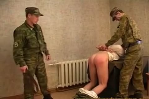 Russian Army thrashing And plowing