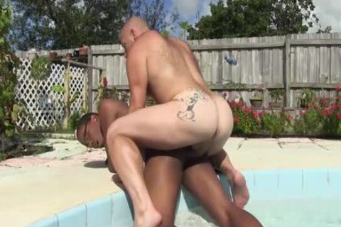 Daddy Sailor Blue bare pokes Donny Ray