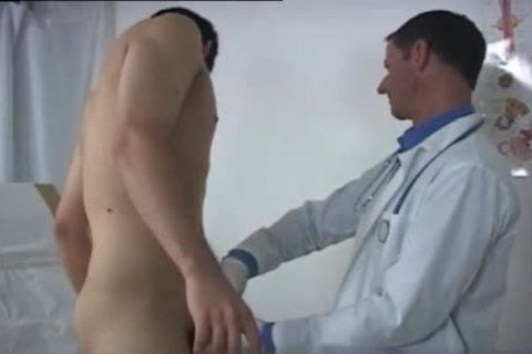 twink receives A large Surprise From His Doctor During An Exam