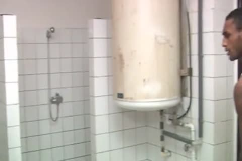 Euro Prison Shower Mixed Race 3way