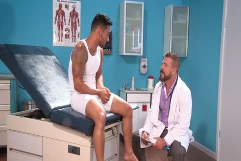 gigantic cock Doctor And small arse Patient