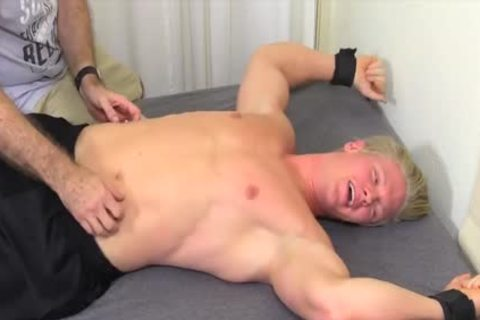 pretty And blond dude Named Seamus gets Tickled Hard