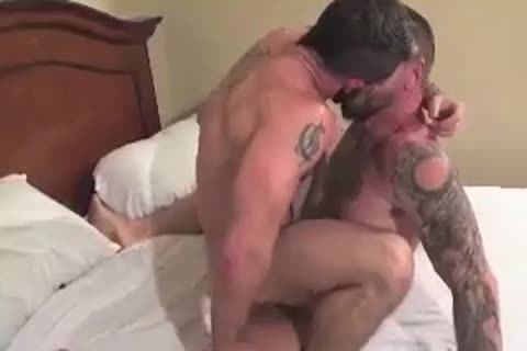 gigantic Bear Daddy Breeds tight wazoo gangbang tight aperture In Some wonderful Barebacking Session
