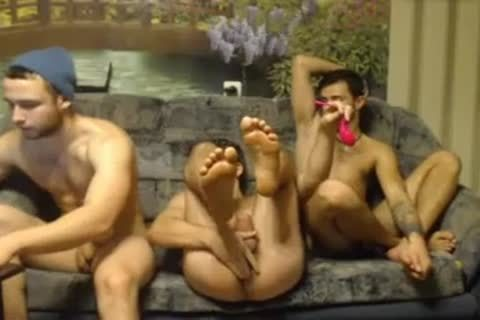 three Randy Russian Straight Individuals Go homosexual For The First Time On cam