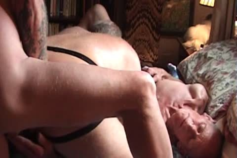 3some Of daddy homosexual Swingers