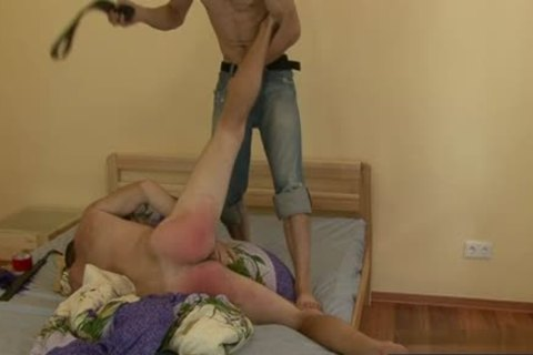 Russian twinks thrashing With cumshot