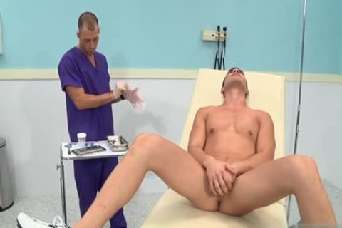 large 10-Pounder Doctor 3some With ejaculation