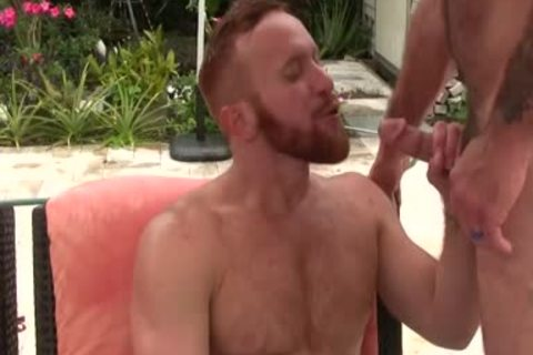 concupiscent bushy daddy pokes Ginger Sun - sperm sperm sperm