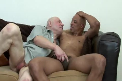 Daddy receives drilled By black Hunk