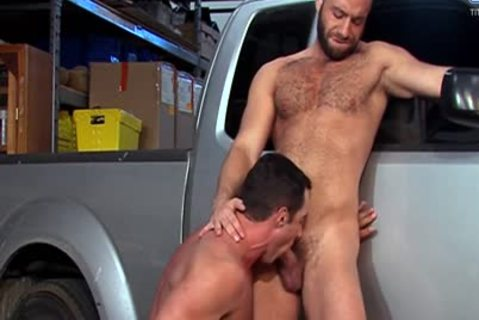 Eddy CeeTee And Nick Capra gangbang In The Garage