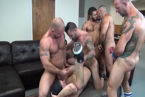Alex Birthday bunch gangbang