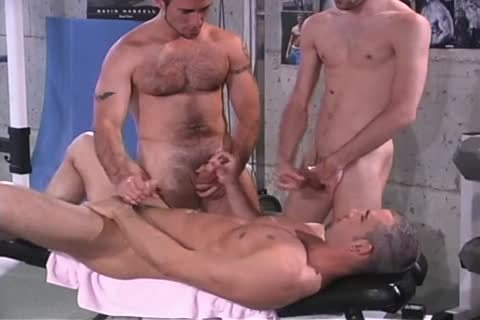 lovely Pierced Hunk bunch sex Workout