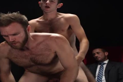 MormonBoyz - Two Missionaries bang As torment For Priest Daddy