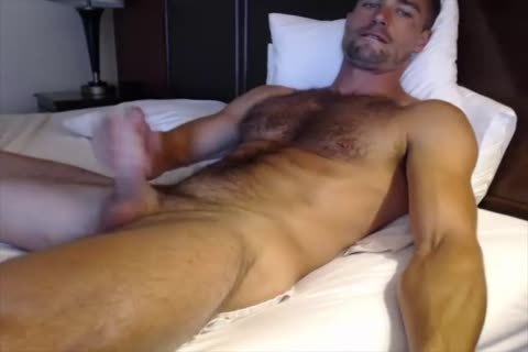 Dilf With Vibrating sextoy On web camera