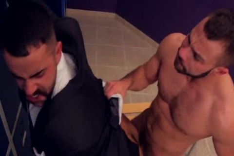 Teddy Torres banged In The Locker Room