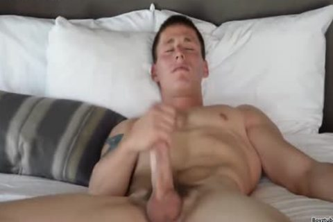 Baseball cock receives Clean & juicy