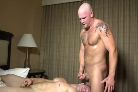 Straight men engulf And nail For The First Time