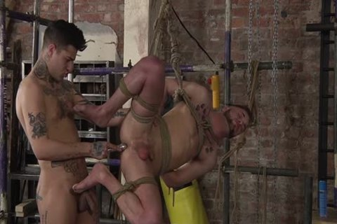 young homo Koby Lewis bound And pounded Hard By Mickey Taylor