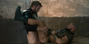 Just dong League : A homosexual XXX Parody - Colby Keller & Francois Sagat ass nail