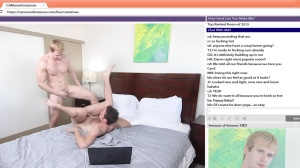 The Chat Room - Cameron Foster and Brandon Moore anal bone