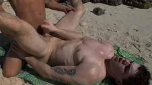 Sex On The Beach - Brent Everett and Eric Clark pooper Hook up