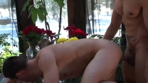 Godfather - Rafael Alencar and Brenner Bolton anal poke