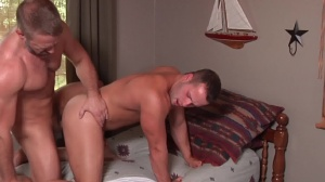 Son swap - Dirk Caber & Luke Adams pooper job