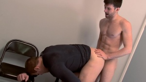 Scrum - Colby Jansen with Woody Fox butt Hump