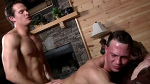 Aaron's First Time - Aaron Anderson and Liam Rosso pooper Nail