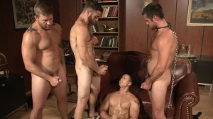 Trying Out The Goods - Tommy Defendi and John Magnum anal Hook up